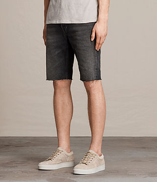 Men's Byers Switch Shorts (Jet Black) - product_image_alt_text_3