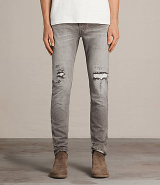 Men's Geti Rex Jeans (Light Grey) - product_image_alt_text_1