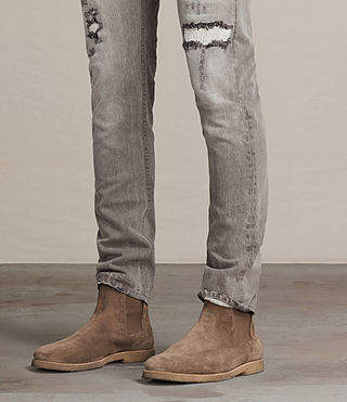 Men's Geti Rex Jeans (Light Grey) - product_image_alt_text_2