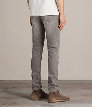 Men's Geti Rex Jeans (Light Grey) - product_image_alt_text_4