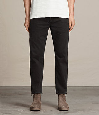 Hommes Jean Boston Sid (Jet Black)