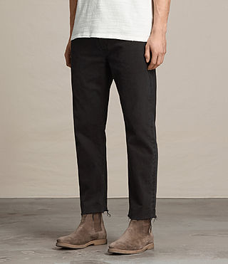 Uomo Jeans Boston Sid (Jet Black) - product_image_alt_text_3