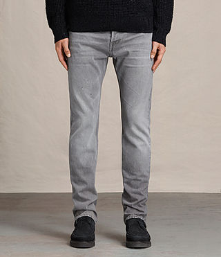 Mens Goree Iggy Jeans (Grey)