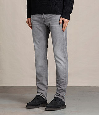 Mens Goree Iggy Jeans (Grey) - product_image_alt_text_2