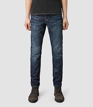 Mens Kikuchi Rigg Jeans (Indigo)