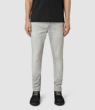 Herren Wrath Cigarette Jeans (Grey)