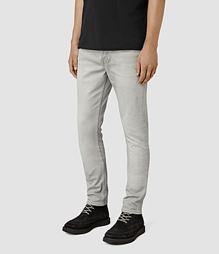 Men's Wrath Cigarette Jeans (Grey) - product_image_alt_text_2