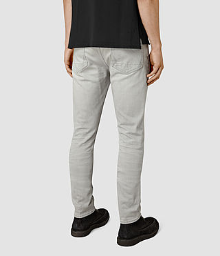 Men's Wrath Cigarette Jeans (Grey) - product_image_alt_text_3