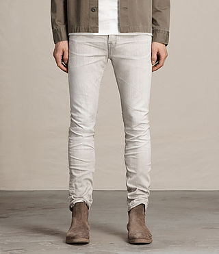 Hombre Greeley Cigarette Jeans (Grey) - product_image_alt_text_1