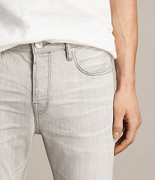 Hombre Greeley Cigarette Jeans (Grey) - product_image_alt_text_2