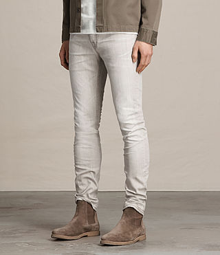 Hombre Greeley Cigarette Jeans (Grey) - product_image_alt_text_3