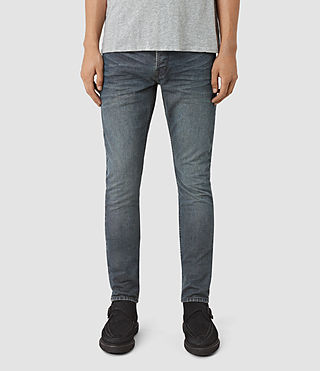 Mens Groats Pistol Jeans (Grey) - product_image_alt_text_1