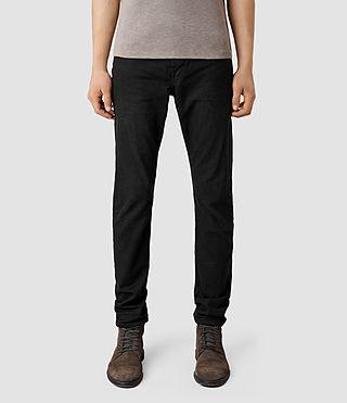 Mens Neunaniwa Rigg Jeans (Black)