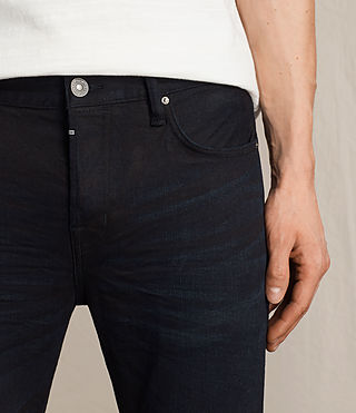 Mens Rannoch Cigarette Jeans (Indigo Blue) - product_image_alt_text_2
