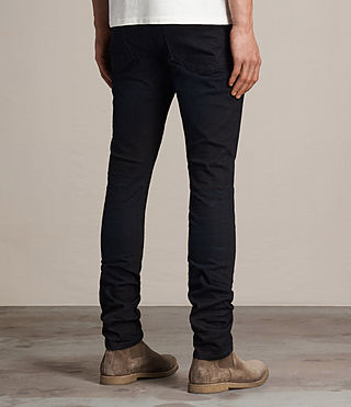 Mens Rannoch Cigarette Jeans (Indigo Blue) - product_image_alt_text_3