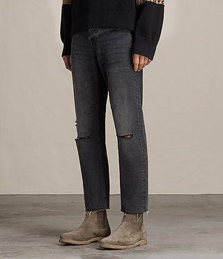 Uomo Jeans Baker Sid (Black) - product_image_alt_text_2