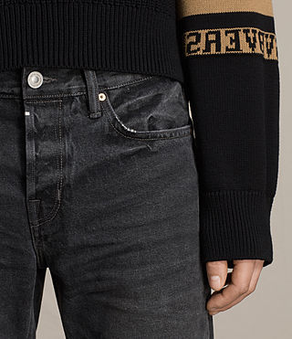 Uomo Jeans Baker Sid (Black) - product_image_alt_text_3