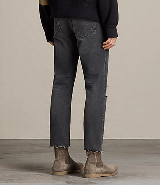 Uomo Jeans Baker Sid (Black) - product_image_alt_text_4