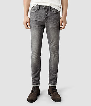 Mens Gull Razor Jeans (Grey)