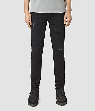 Mens Bors Hoxley Wilkins Jeans (Black) - product_image_alt_text_1