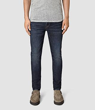 Men's Clachan Cigarette Jeans (Indigo Blue)