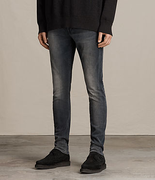 Men's Gutherie Rex Jeans (Jet Black) - product_image_alt_text_2