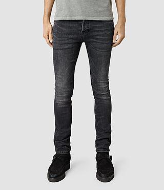 Mens Colvin Cigarette Jeans (Washed Black)