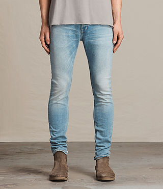 Men's Inez Cigarette Jeans (Indigo Blue)