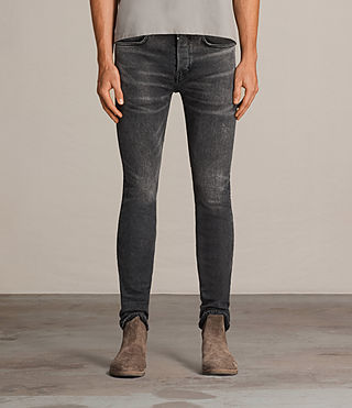 Men's Bishop Cigarette Jeans (Grey) - Image 1