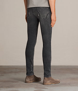 Men's Bishop Cigarette Jeans (Grey) - Image 2