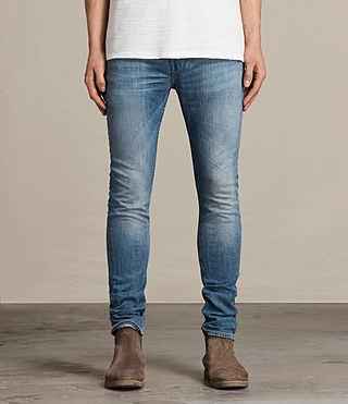 Men's Inkom Cigarette Jeans (Indigo Blue)
