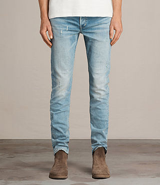 Men's Ide Rex Jeans (LIGHT INDIGO BLUE) - Image 1