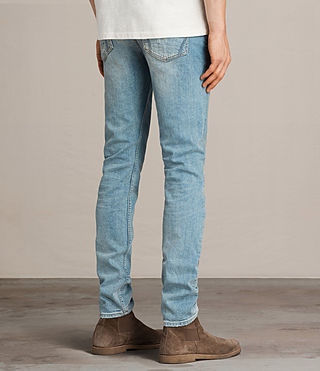 Men's Ide Rex Jeans (LIGHT INDIGO BLUE) - Image 4