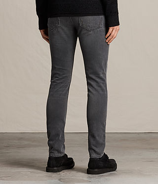 Men's Dunvegan Pistol Jeans (Black) - product_image_alt_text_2