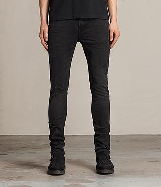 Hommes Kaneko Cigarette Jeans (Black)