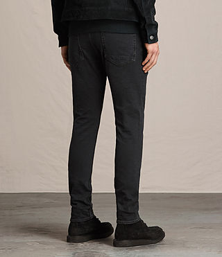 Men's Beale Cigarette Jeans (Jet Black) - product_image_alt_text_3
