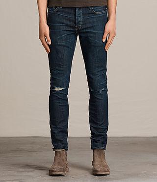Mens Keiko Cigarette Jeans (Indigo)