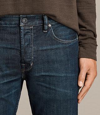 Mens Keiko Cigarette Jeans (Indigo) - product_image_alt_text_2