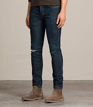 Men's Keiko Cigarette Jeans (Indigo) - product_image_alt_text_3