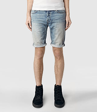 Mens Hanako Switch Denim Shorts (Indigo)