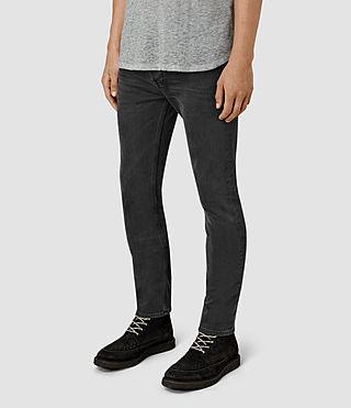 Hombre Keppoch Cigarette Jeans (Black) - product_image_alt_text_2