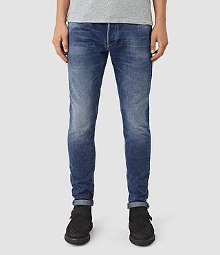 Hombres Dunan Pistol Jeans (Indigo Blue) -