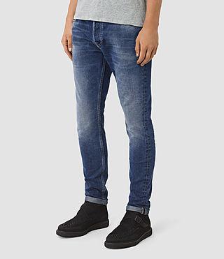 Hombres Dunan Pistol Jeans (Indigo Blue) - product_image_alt_text_2