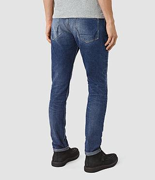Hombres Dunan Pistol Jeans (Indigo Blue) - product_image_alt_text_3
