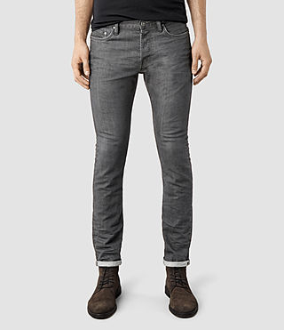 Mens Setsu Cigarette Jeans (Grey)