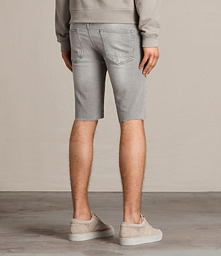 Hombres Gilroy Switch Denim Shorts (Grey) - product_image_alt_text_3