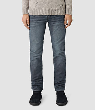 Mens Groats Iggy Jeans (Indigo Blue) - product_image_alt_text_1