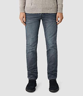 Mens Groats Iggy Jeans (Grey) - product_image_alt_text_1