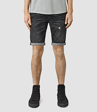 Hommes Hancox Switch Short (Black)