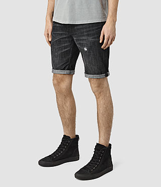 Mens Hancox Switch Shorts (Black) - product_image_alt_text_2
